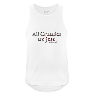 All Crusades Are Just. Alt.1 - Men's Breathable Tank Top