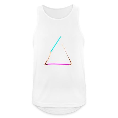 3eck - Dreieck - triangle - Männer Tank Top atmungsaktiv