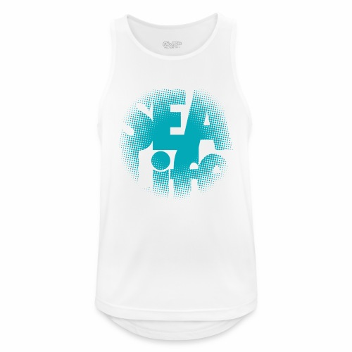 Sealife surfing tees, clothes and gifts FP24R01A - Miesten tekninen tankkitoppi