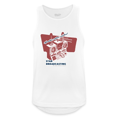 numbers stations hi - Men's Breathable Tank Top