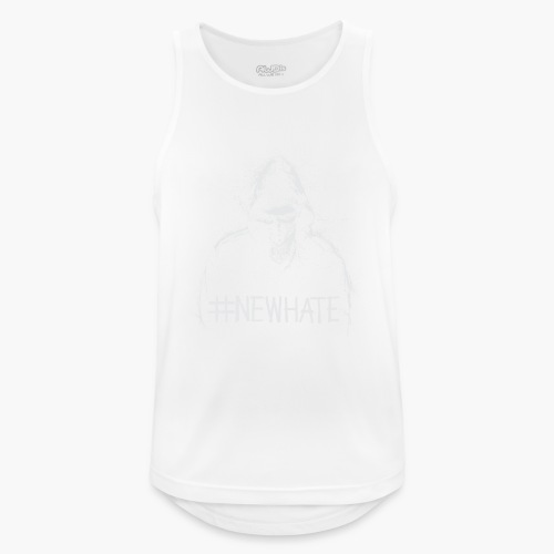 #NewHate Male - Pustende singlet for menn