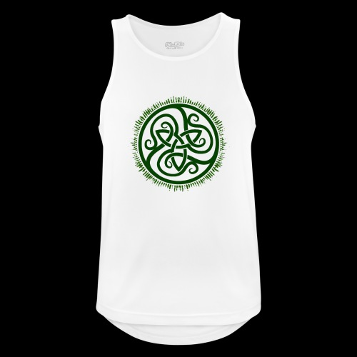 Green Celtic Triknot - Men's Breathable Tank Top