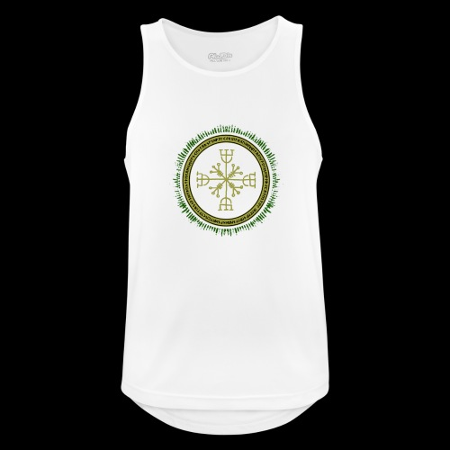 Norse Runes with Aegishjalmur 2017 - Men's Breathable Tank Top