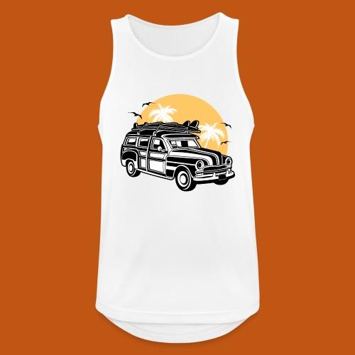 Chevy Cadilac Woodie / Oldtimer Kombi 01_3c - Männer Tank Top atmungsaktiv