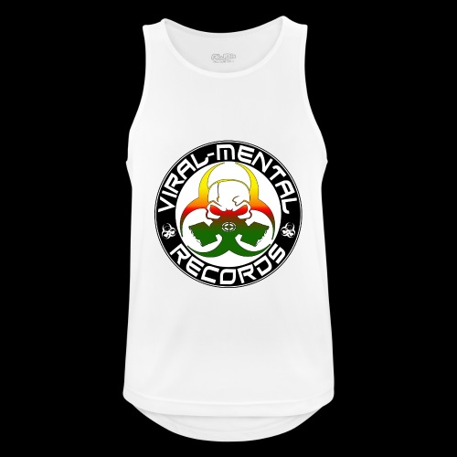 Viral Mental Records Logo - Men's Breathable Tank Top