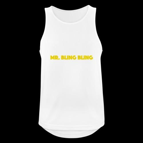 bling bling - Männer Tank Top atmungsaktiv