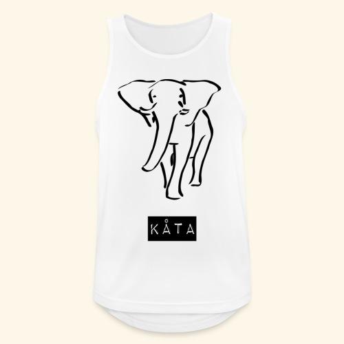 kåta-kyler elephant - Männer Tank Top atmungsaktiv