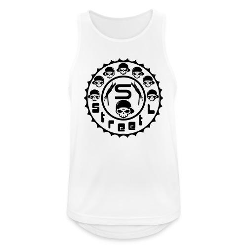 rawstyles rap hip hop logo money design by mrv - Tank top męski oddychający