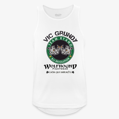 vic grundy back png - Men's Breathable Tank Top