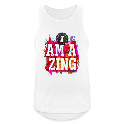 I am Amazing - Men's Breathable Tank Top