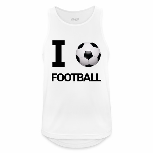 I LOVE FOOTBALL - Men's Breathable Tank Top