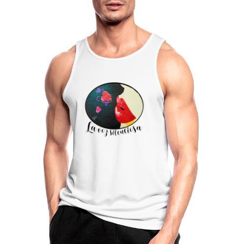La Voz Silenciosa - Besos - Camiseta sin mangas hombre transpirable