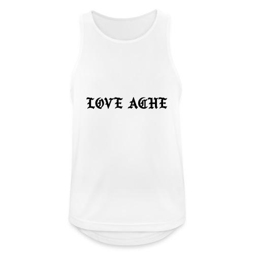 LOVE ACHE - Mannen tanktop ademend actief