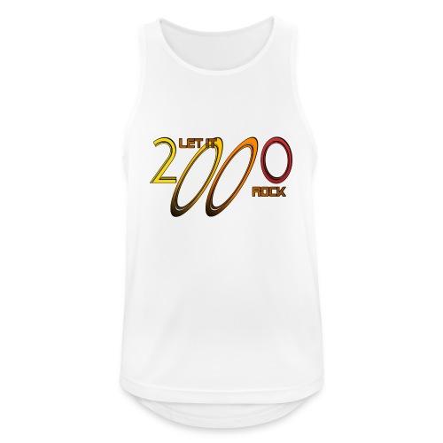 Let it Rock 2000 - Männer Tank Top atmungsaktiv