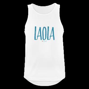 ola - Camiseta sin mangas hombre transpirable