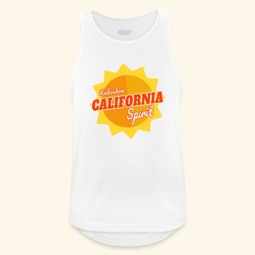 California Spirit Radioshow - Débardeur respirant Homme