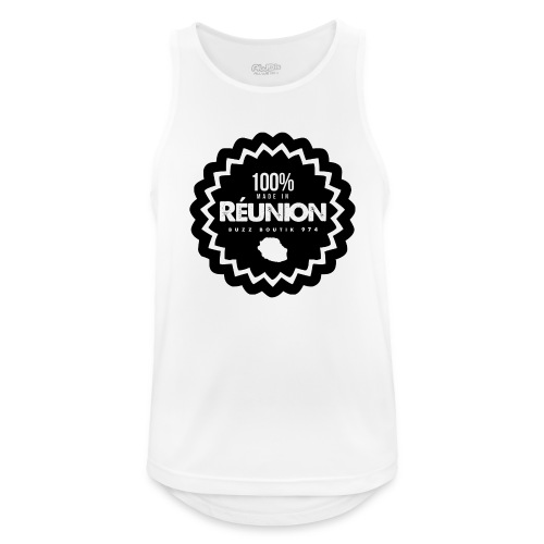 Collection 100% MADE IN REUNION - Débardeur respirant Homme