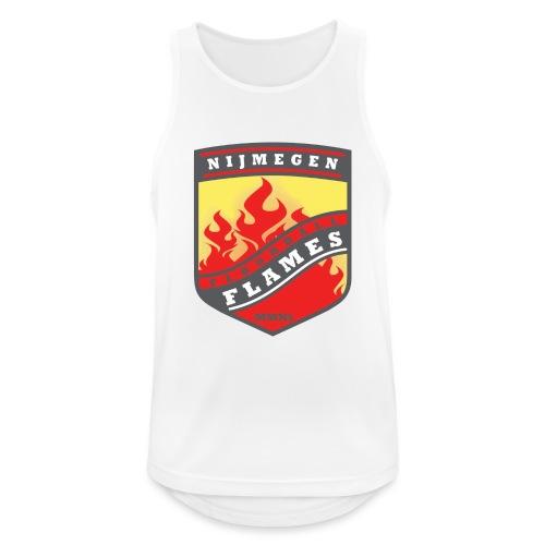 trainingsjack rood - Mannen tanktop ademend