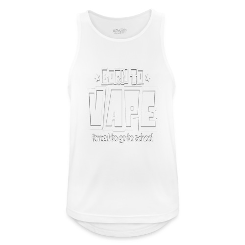 Born to vape - Men's Breathable Tank Top
