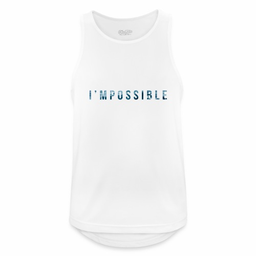 I'mpossible Waves - Men's Breathable Tank Top