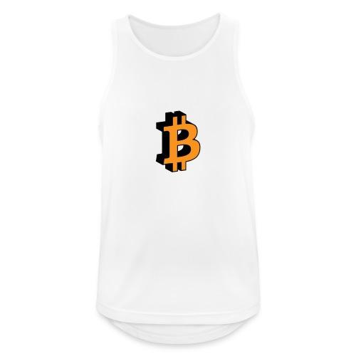 Bitcoin - Männer Tank Top atmungsaktiv