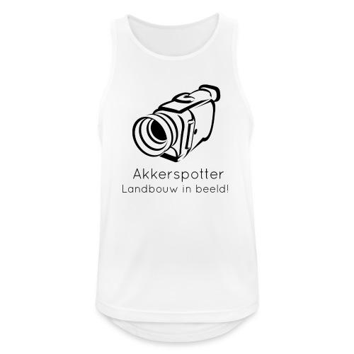 Logo akkerspotter - Mannen tanktop ademend actief