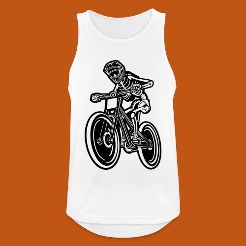 BMX / Mountain Biker 04_schwarz - Männer Tank Top atmungsaktiv