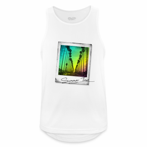 Summer Time - Men's Breathable Tank Top