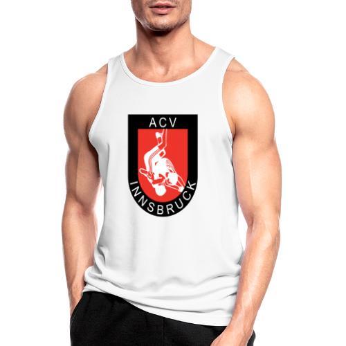AC Vollkraft Logo - Männer Tank Top atmungsaktiv
