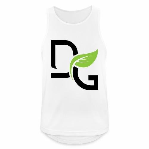 DrGreen Logo Symbol schwarz grün - Männer Tank Top atmungsaktiv
