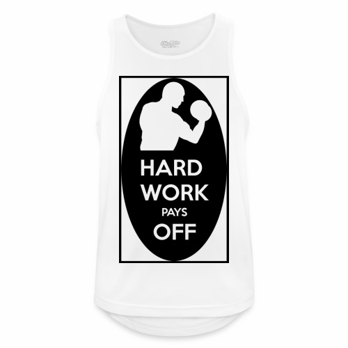 hard work pays off 2 cup.jpg - Men's Breathable Tank Top
