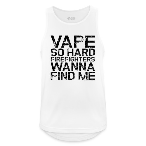 Vape so hard - Men's Breathable Tank Top