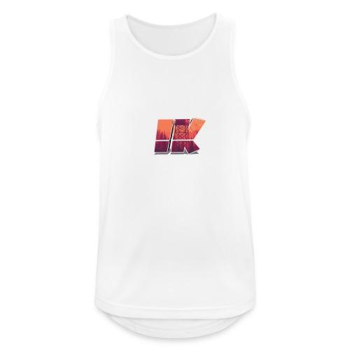 Ishaan Kulkarni Logo (1) - Men's Breathable Tank Top