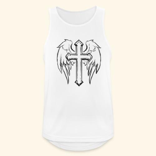Faith and love - Men's Breathable Tank Top