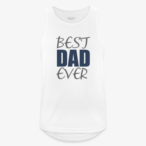 Best Dad Ever - Men's Breathable Tank Top