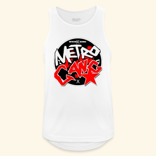 METRO GANG LIFESTYLE - Men's Breathable Tank Top
