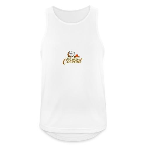 The warm coconut campfire - Men's Breathable Tank Top