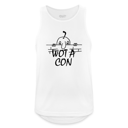 WOT A CON - Men's Breathable Tank Top