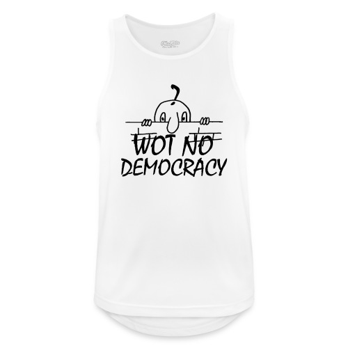 WOT NO DEMOCRACY - Men's Breathable Tank Top