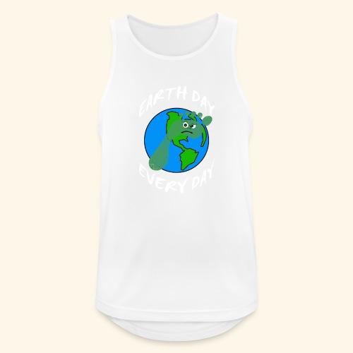 Earth Day Every Day - Männer Tank Top atmungsaktiv