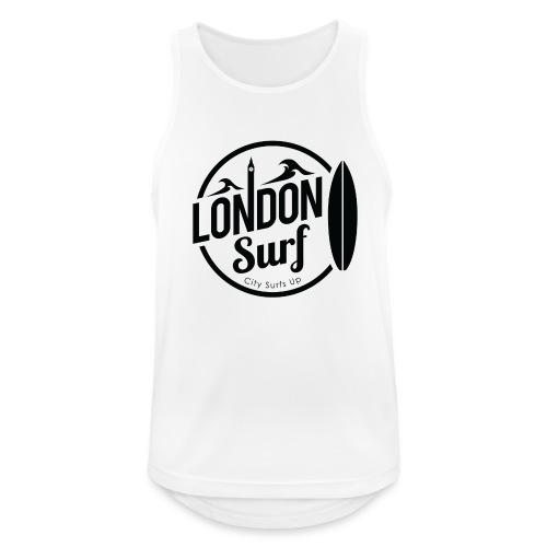 London Surf - Black - Men's Breathable Tank Top