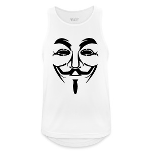 anonym vendetta - Männer Tank Top atmungsaktiv