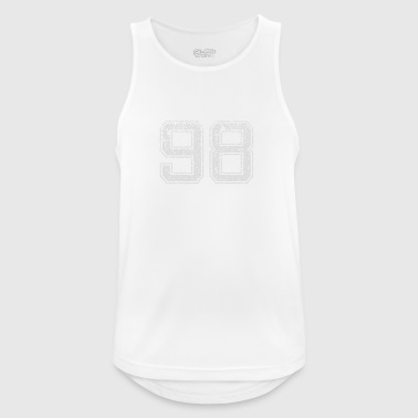 Number 98 Number Ninety-eight Nine Eight Gift - Men's Breathable Tank Top