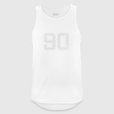 Number 90 Number Ninety Nine zero Gift - Men's Breathable Tank Top