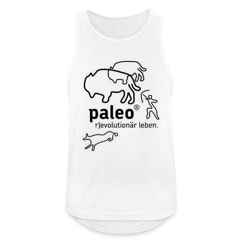 Paleo r evolutionär Illu - Männer Tank Top atmungsaktiv
