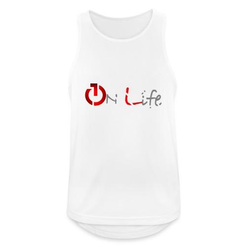 OnLife Logo - Débardeur respirant Homme