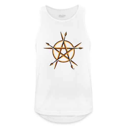 PAGAN PAINTER - Men's Breathable Tank Top
