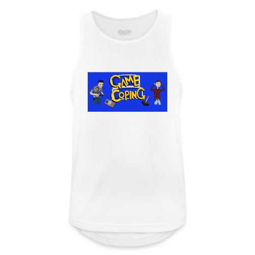 Game Coping Angry Banner - Men's Breathable Tank Top