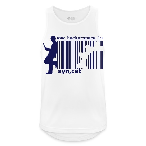 syn2cat hackerspace - Men's Breathable Tank Top