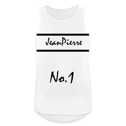 JeanPierreNo1 png - Männer Tank Top atmungsaktiv
